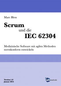 Scrum und die IEC 62304 - 1.8 Cover vorne